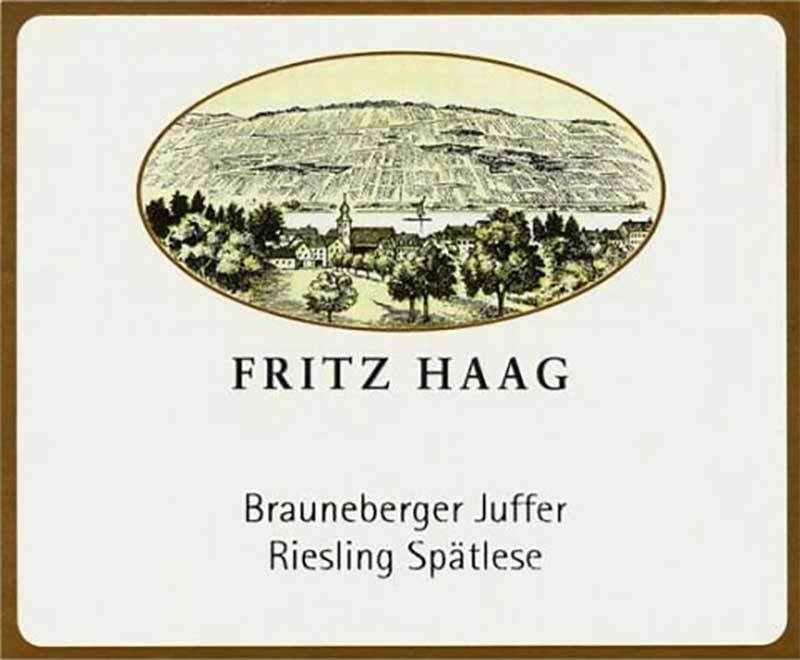 Fritz Haag Braun Riesling Spat