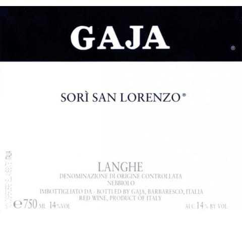 Gaja Sori San Lorenzo
