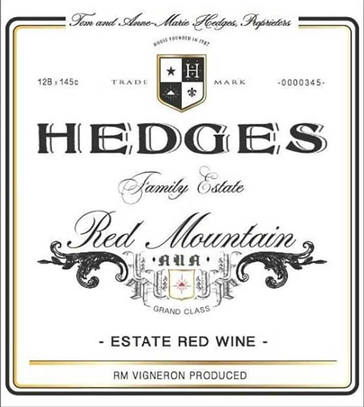 Hedges Red Mountain