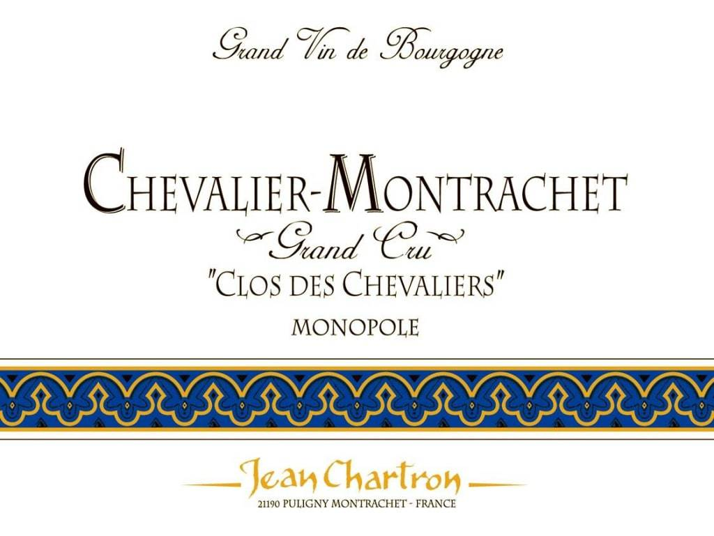 Jean Chartron Clos Chevaliers