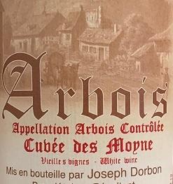 Joseph Dorbon Arbois Cuvee Des Moyne