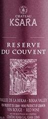 Ksara Reserve Du Couvent Red Wine