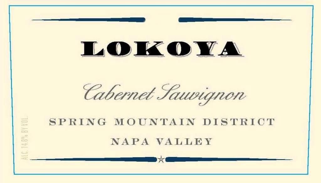 Lokoya Spring Mtn Cab