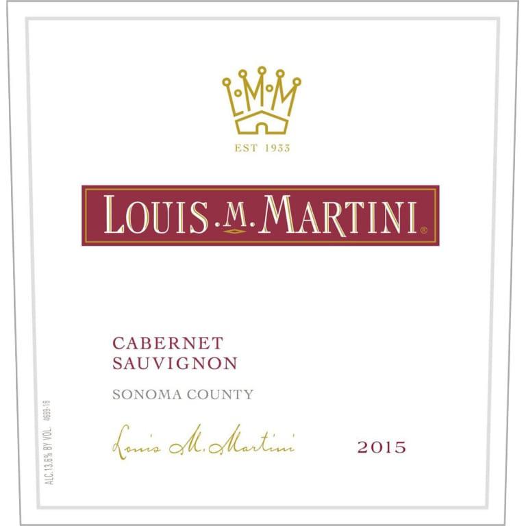 Louis Martini Sonoma Cabernet