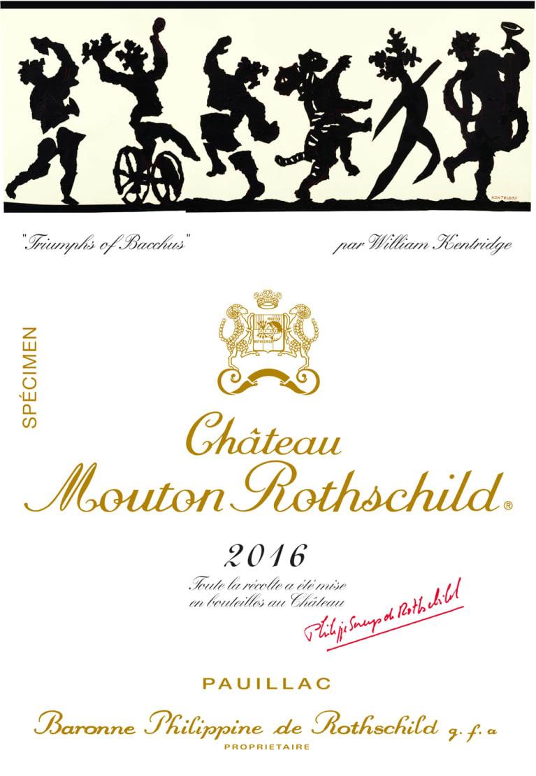 Mouton Rothschild 16