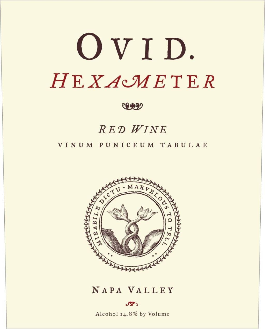 Ovid Hexameter Red