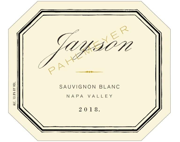 Pahlmeyer Jayson Sauv Blanc