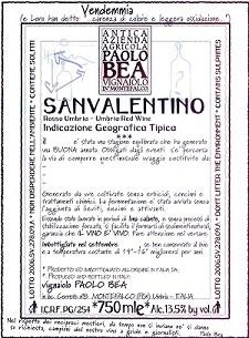Paolo Bea San Valentino Rosso