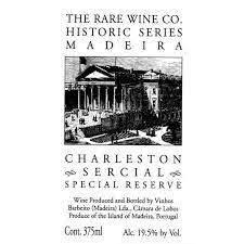 Rare Wine Co Charleston Sercial