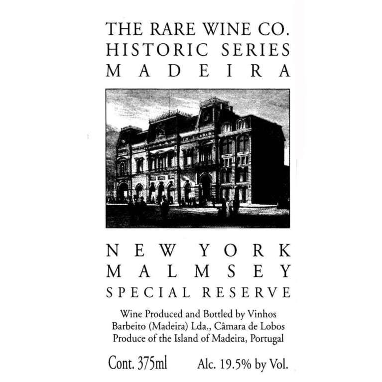Rare Wine Co New York Malmsey