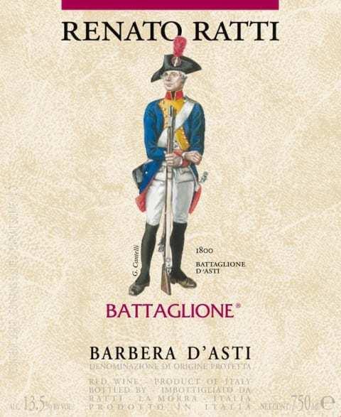 Renato Ratti Battaglione Barbera D Asti
