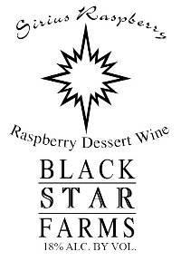 Sirius Raspberry Dessert Wine Nv