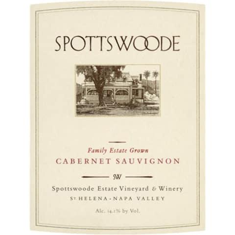 Spottswoode Estate Cab