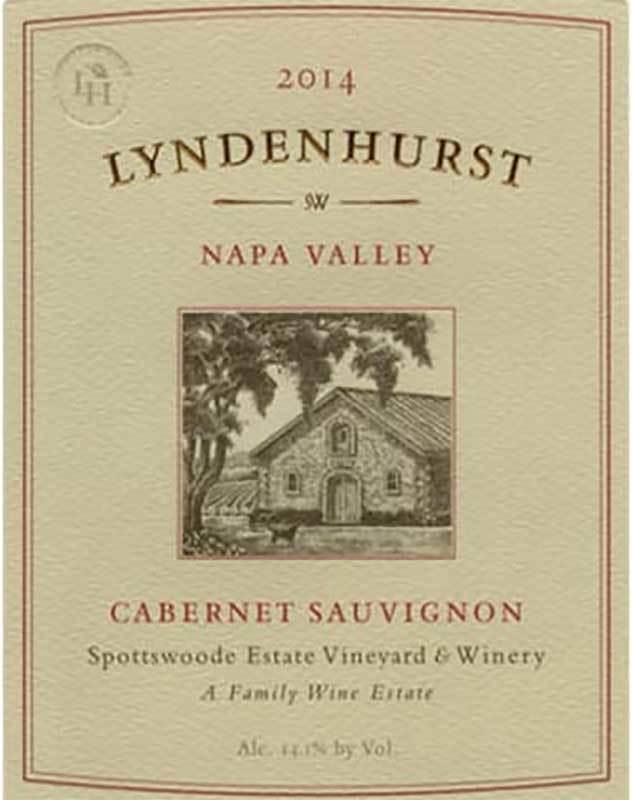 Spottswoode Lyndenhurst Cabernet