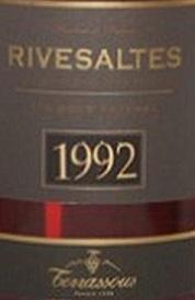 Terrassous Hors Dage 1992 Rivasaltes