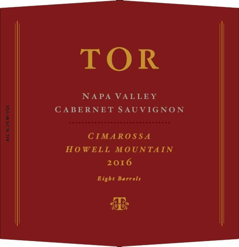 Tor Cimarossa Cabernet