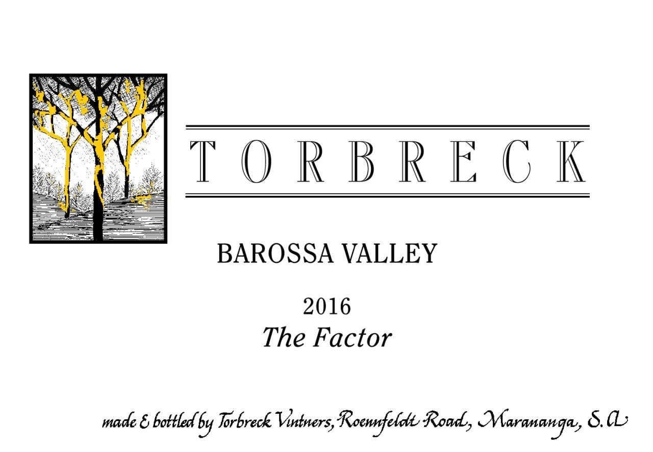 Torbreck Factor Shiraz