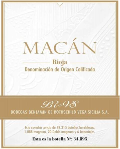 Vega Sicilia Macan
