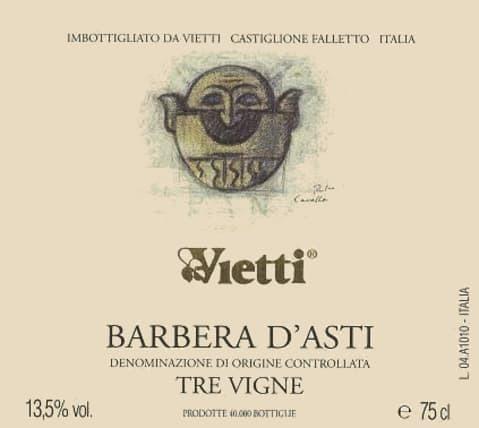 Vietti Tre Vigne Barbera D Asti