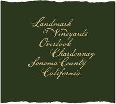 Landmark Overlook Sonoma County Chardonnay 2018