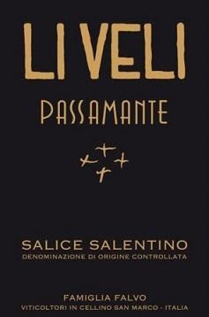 Liveli Passamante Salice Salentino Mv