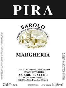 Luigi Pira Margheria Barolo 2016
