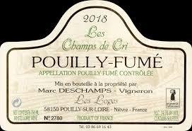 Marc Deschamps Pouilly Fume Les Loges 2018