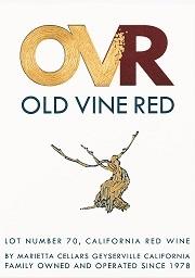 Marietta Cellars Old Vine Red