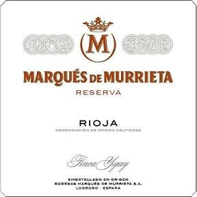 Marques De Murrieta Rioja Reserva 2015