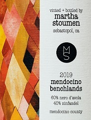 Martha Stoumen Benchlands Red Mendocino