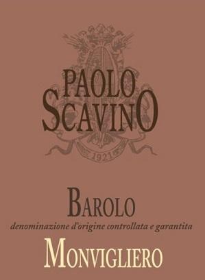 Paolo Scavino Monvigliero Barolo