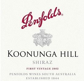 Penfolds Koonunga Hill Shiraz
