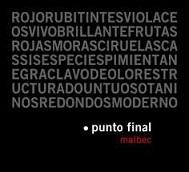 Punto Final Malbec Classico