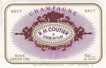 Rh Coutier Brut Rose Nv