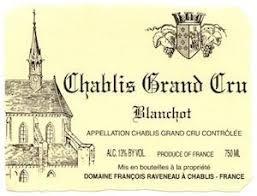 Raveneau Chablis 1Er Cru Blanchot 2017