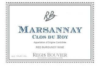 Regis Bouvier Marsannay Clos Du Roy
