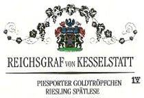 Reichgraf Goldtropfchen Riesling Spatlese 2016