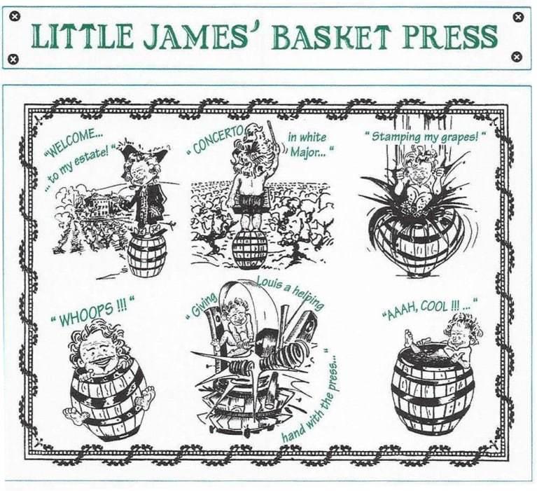 St Cosme Little James Basket Press 2018