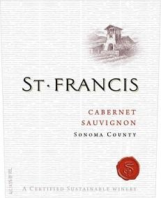 St Francis Sonoma County Cabernet Mv