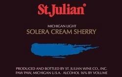 St Julian Solera Light Cream Sherry