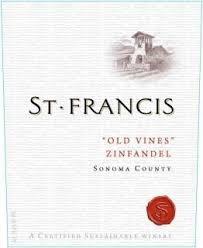 St  Francis Old Vines Sonoma County Zinfandel 2017
