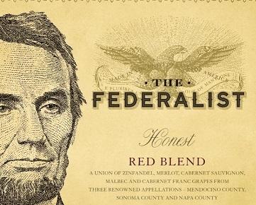 The Federalist Honest Red Blend