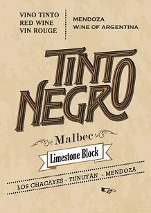 Tinto Negra Limestone Block Malbec 2016