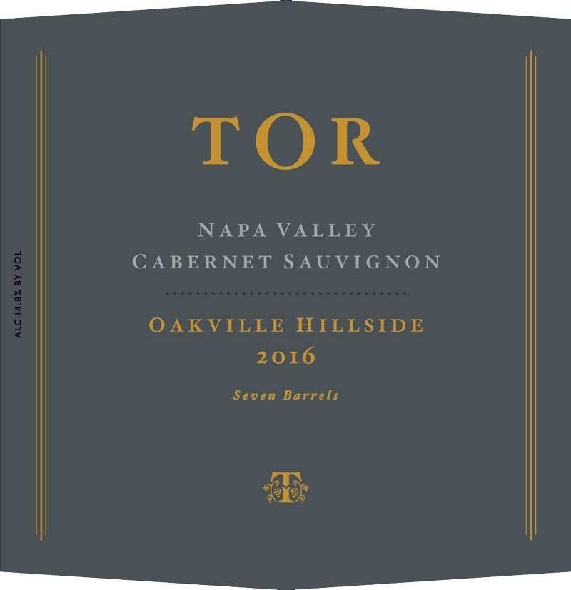 Tor Oakville Hillside Cabernet