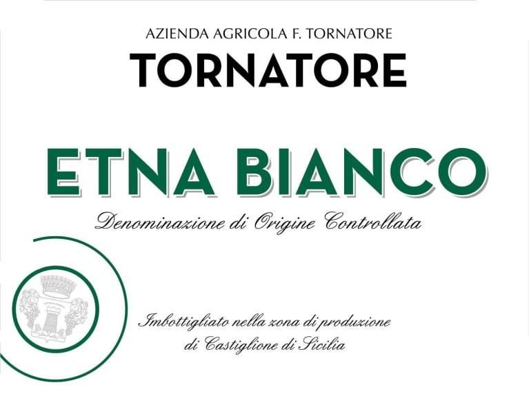 Tornatore Etna Blanco 2018