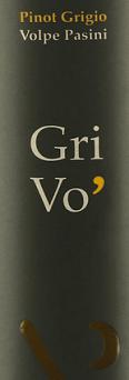 Volpe Pasini Grivo Pinot Grigio Doc Friuli 2018