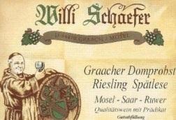 Willi Schafer 5 Graacher Domprobst Riesling Spatlese 2019