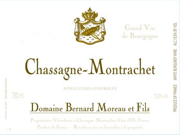 Bernard Moreau Chassagne Montrachet 1